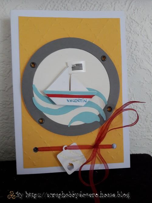 Un Bateau Navigant Sur Les Flots Scraphobby De Vero
